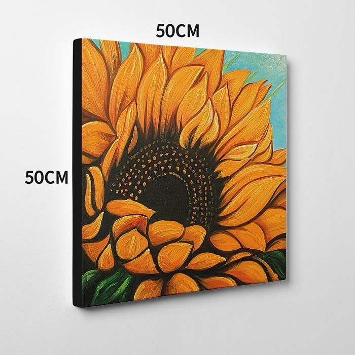 해바라기 그림 2 (50X50CM) 2