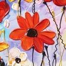 유화 꽃그림 (80X60CM)