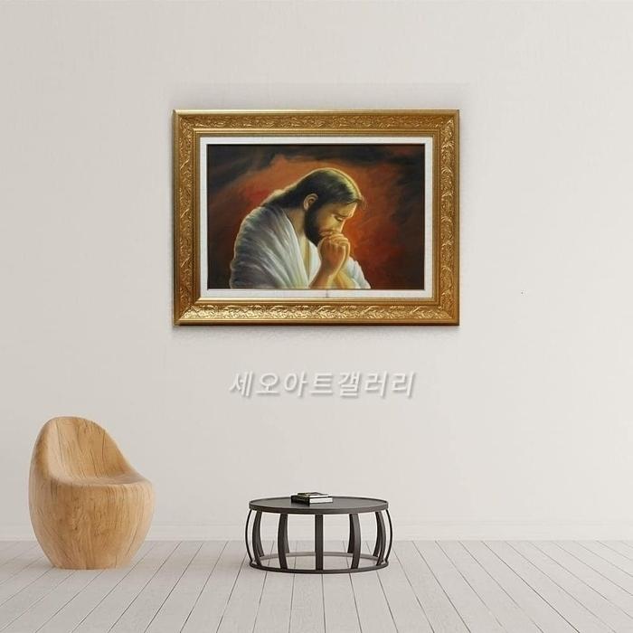 기독교 성화 : 예수님의 기도 (78X58CM)