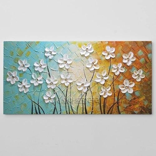 유화 꽃그림 인테리어 액자 2 500x500 - 인테리어 액자, 캔버스 액자, 유화 그림 전문 쇼핑몰