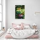 구어도 / 잉어 그림 : 연꽃 아래의 비단잉어 (80X60CM)
