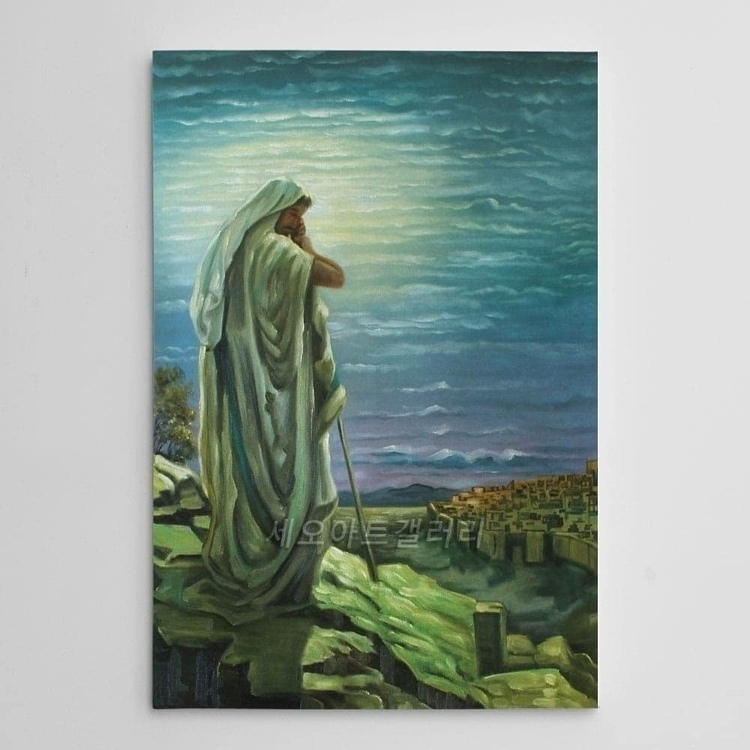 겟세마네 동산의 예수님 (40X60CM)