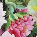 부귀화 - 모란꽃 (목단꽃) 그림 3 (60X60CM)