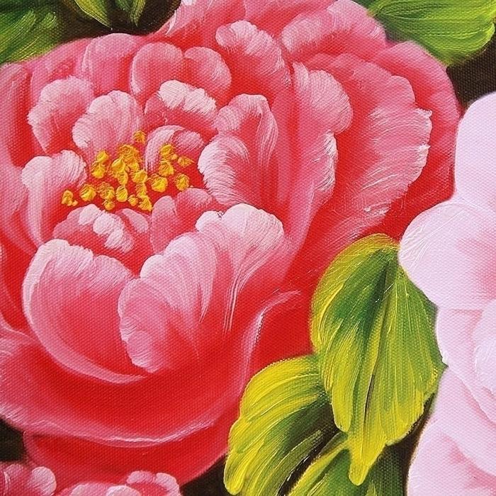 부귀화 - 모란꽃 (목단꽃) 그림 4 (70X50CM) 4