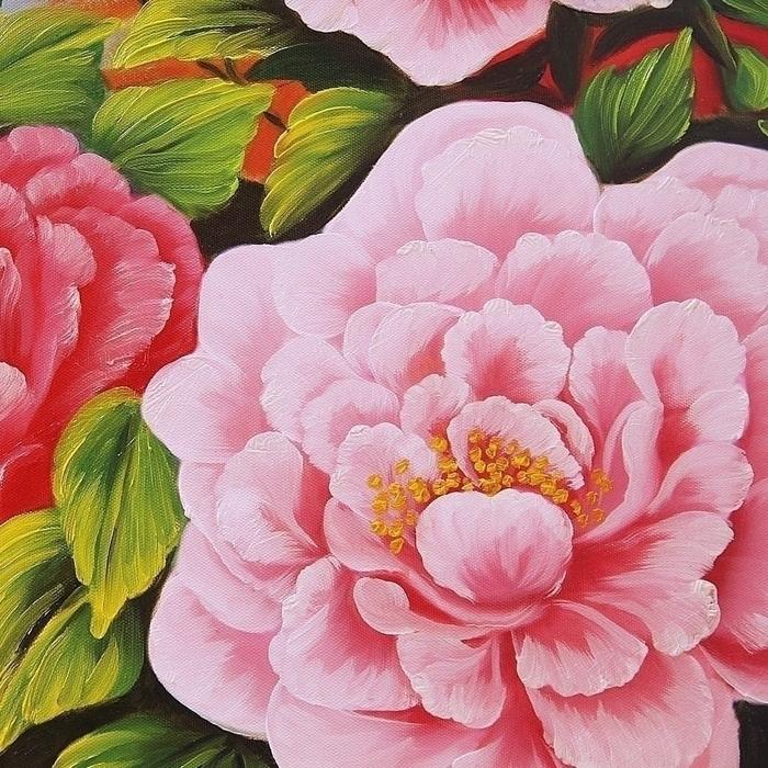 부귀화 - 모란꽃 (목단꽃) 그림 4 (70X50CM) 2