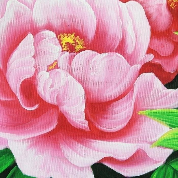 부귀화 - 모란꽃 (목단꽃) 그림 6 (50X70CM)
