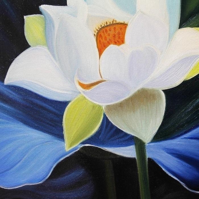 연꽃 그림 2 - 복을 부르는 그림 (50X60CM)