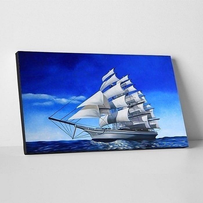 배 그림 2 (돛단배 바다 그림) 60X90CM