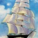 배 그림 3 (돛단배 바다 그림) 60X90CM
