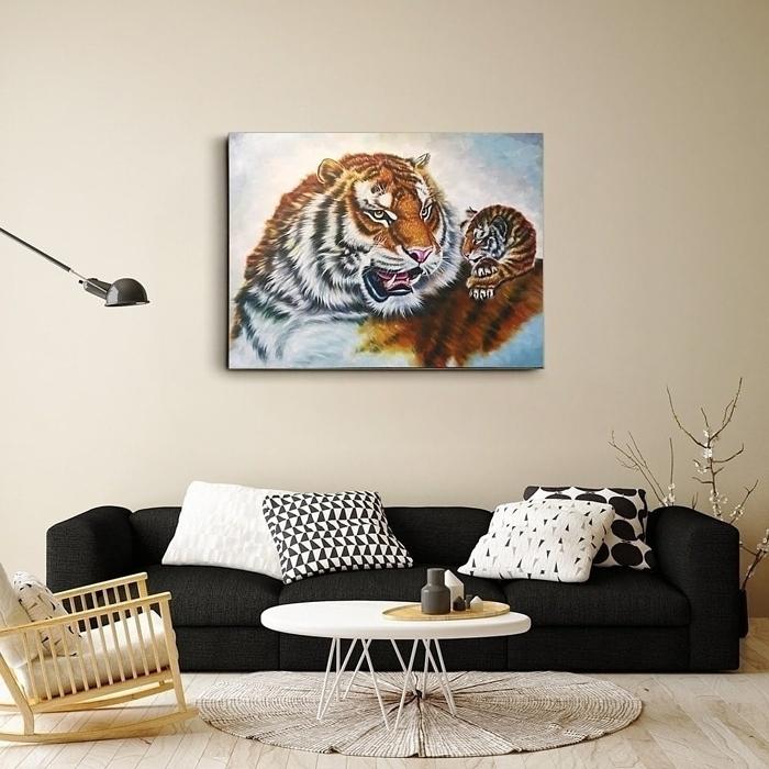 호랑이 그림 (80X60CM)