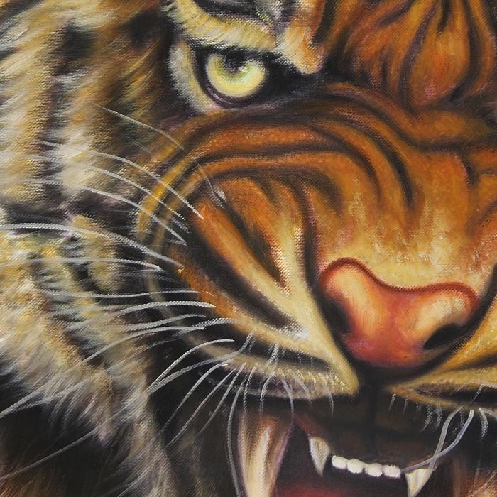호랑이 그림 3 (60X60CM)