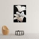 백합 꽃 그림 (50 X 70CM)