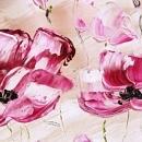 예쁜 꽃그림 액자 2 (80X60CM)