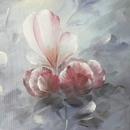 모란꽃 (목단꽃) 그림 7 (60X120CM * 2)
