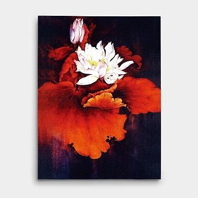 연꽃 그림에는 어떤 의미가 있을까?