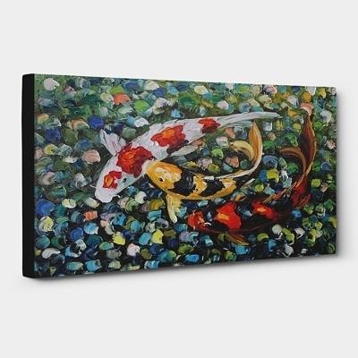 다양한 잉어그림의 유래 및 작품소개 (2018) 8