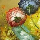 모란꽃 (목단꽃) 그림 10 (100X95CM)