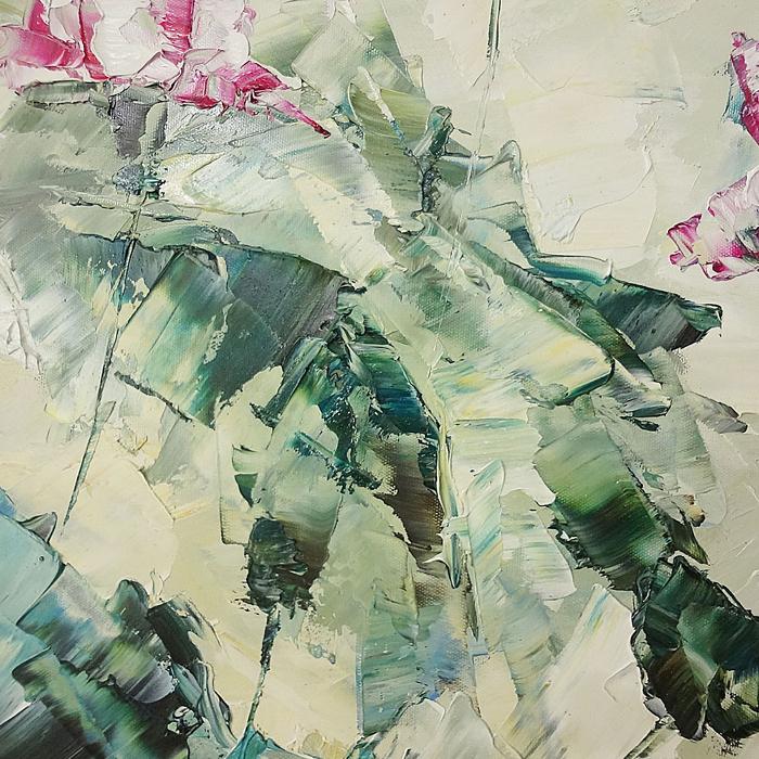 연꽃 그림 7 (60X90CM)