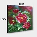모란꽃 (목단꽃) 그림 10 (70X80CM) 9