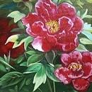 모란꽃 (목단꽃) 그림 10 (70X80CM) 14