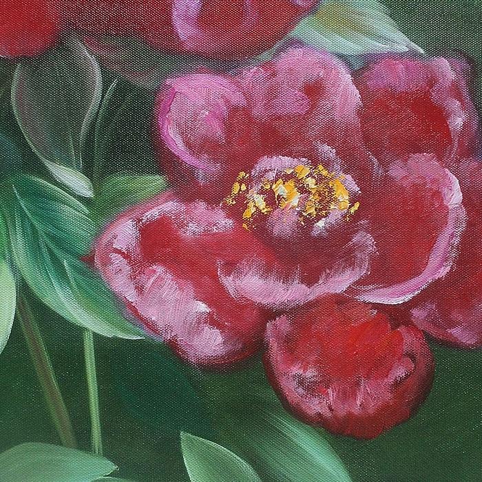 모란꽃 (목단꽃) 그림 10 (70X80CM) 4