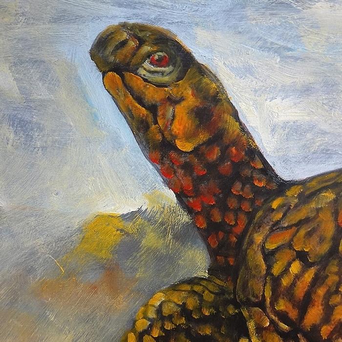 거북이 그림 (80X60CM)