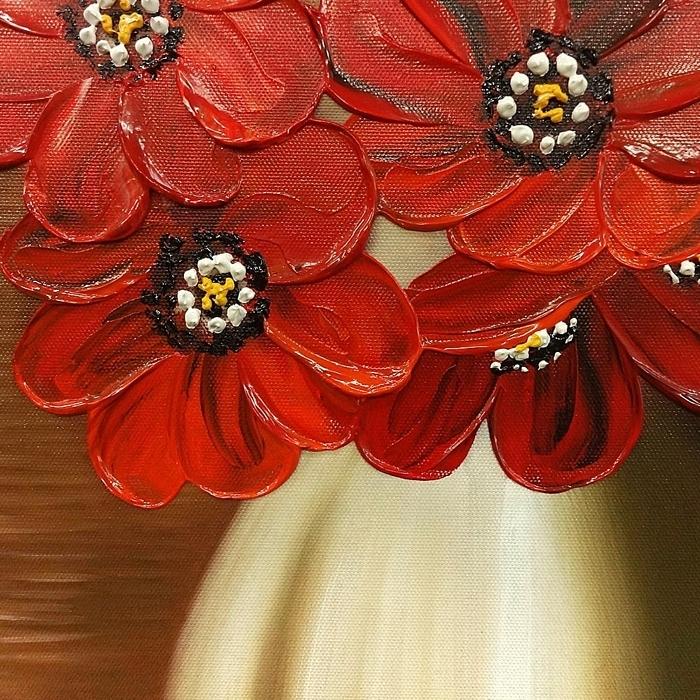 화병에 담긴 꽃 그림 (80X60CM)