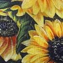 해바라기 그림 16 (60X95CM)
