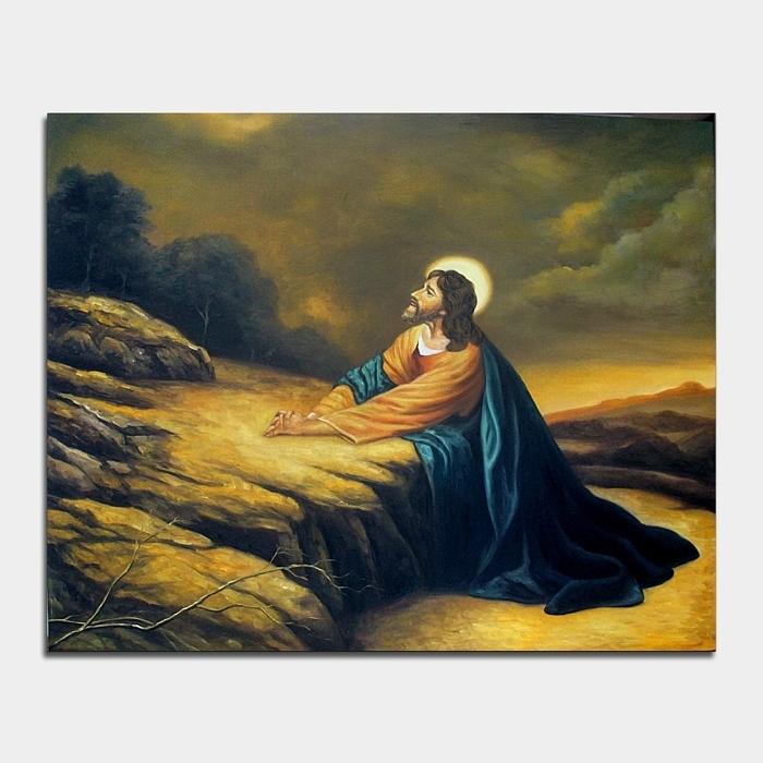 예수님 그림 (100X80CM)