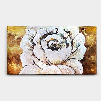 장미 꽃 그림 유화