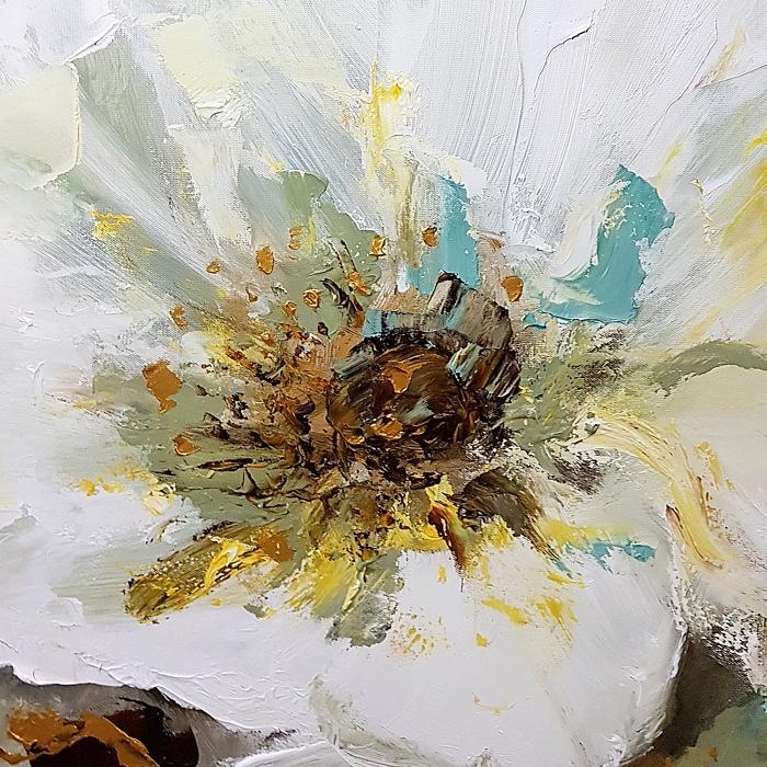장미 꽃 그림 (110X73CM)