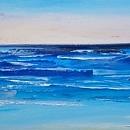 바다 풍경화 (120X75CM)
