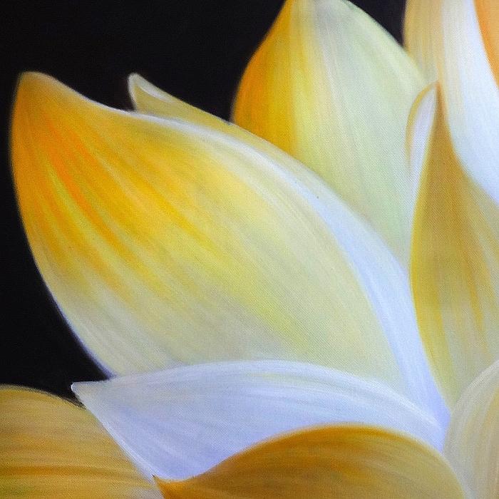 연꽃 그림 10 (80X80CM)