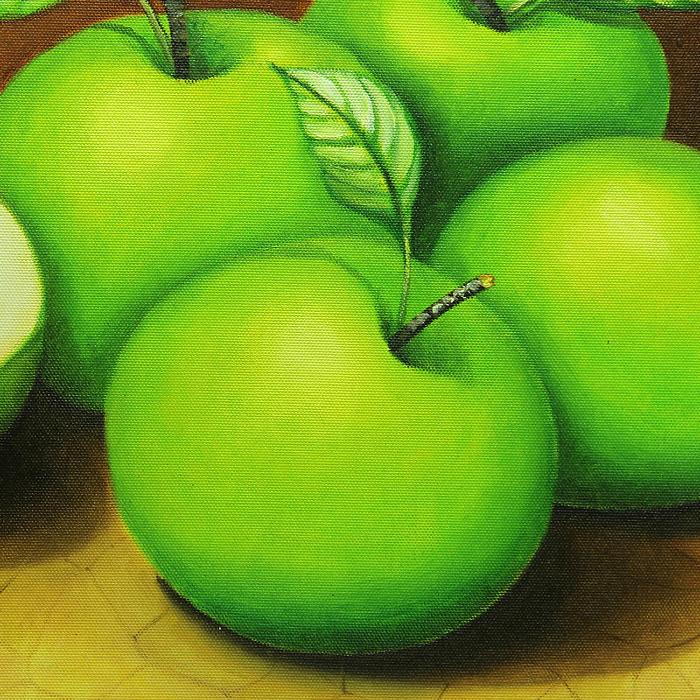 청사과 (푸른 사과) 그림 70X50CM