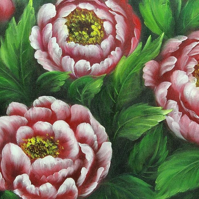 모란꽃 그림 24 (70X50CM)