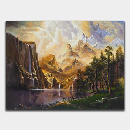 벽에 걸기 좋은 아름다운 풍경화 소개