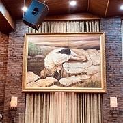 겟세마니 동산에서 기도하시는 예수님 (40X60CM)