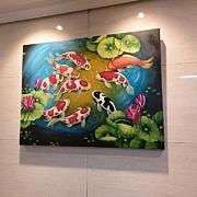 구어도 / 잉어 그림 5 (80X60CM)